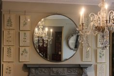 round mirrors interiors - Google Search