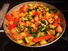 Paleo Red Curry Chicken (dairy free, grain free, gluten free, simple, MSG free) The flavor profiles are so balanced and deliciously mouth-watering! I decided to recreate a red curry dish, making it paleo and whole30 approved. This recipe is simple, quick, and can please any crowd!