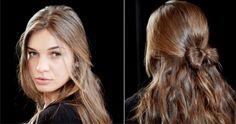 Прическа на последний звонок мальвинка с бантом ::: onelady.ru ::: #hair #hairs…