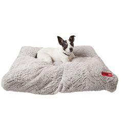Found it at Wayfair - Luxury Faux Fur Cushion Dog Bed