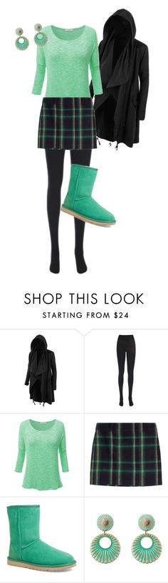 """Untitled #463"" by pholtond on Polyvore featuring LE3NO, J.TOMSON, Polo Ralph Lauren, UGG Australia and Gypsy SOULE"
