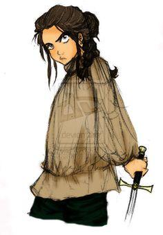 Arya Stark by alexiel1910.deviantart.com on @deviantART