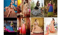 A stunning collection of anarkali suits