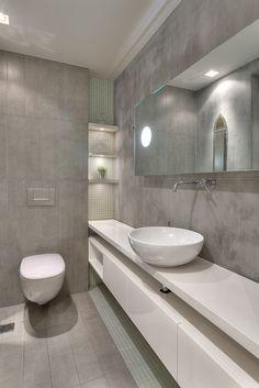 APARTMENT IN P.FALIRO Bathroom Double Vanity, Architecture Design, Sweet Home, Bathtub, Mirror, Interior Design, Furniture, Bathrooms, Home Decor