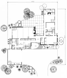 Architecture Drawing Guide single-level home plans, plan no. 99774 ##architecture #drawing