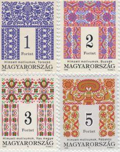 ハンガリーの刺繍切手                                                       …