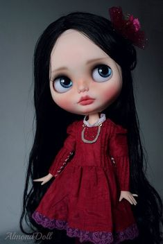Lady in red by AlmondDoll on Flickr.