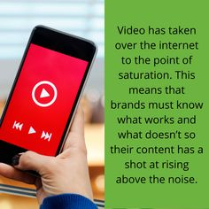 The right content for your videos will help break through the noise and help you get the number of views you are hoping for. This study shows that entertaining and educational videos are what viewers want. #Video #VideoMarketing #Marketing #Content Brazilian Soccer Players, Nike Ad, Diy Projects Cans, What Works, Call To Action, Educational Videos, Tsunami, You Videos, Best Brand