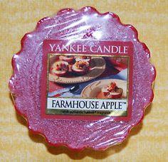 "Yankee Candle Tart ""Farmhouse Apple"" NUR 1x VERSANDKOSTEN"