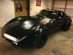 Blacked out vette
