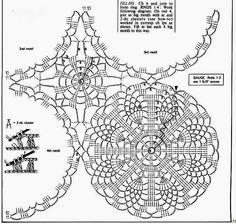 Patterns and motifs: Crocheted motif no. 53