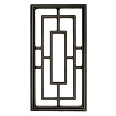 Nuvo Iron Rectangle Decorative Insert for Fencing,Gates, Doors,Home,Garden for sale online Iron Window Grill, Window Grill Design Modern, Grill Door Design, Door Gate Design, Railing Design, Window Design, Fence Design, Grill Gate, Gate Decoration