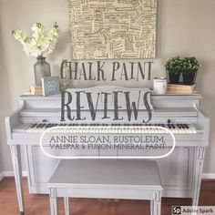 Chalk paint is a powerful medium that can be used to transform almost anything - from furniture, to ...