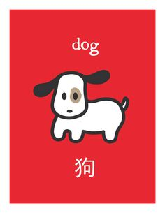 Zodiac Dog Card