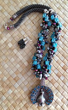 You can easily braid these 3 kumihimo patterns with semi-precious gemstones and a few seed beads.