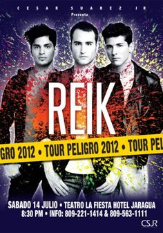 REIK Concert Eye Candy, Blog, Passion, Activities, Film, Concert, Music, Movie Posters, Theater