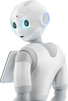 ソフトバンクショップのロボット、pepper