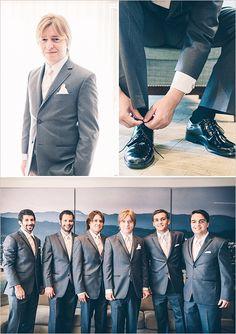 grey and cream groom look @weddingchicks