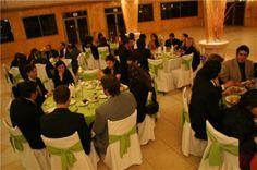 Cena de despedida en el salón principal Hotel Aljarama