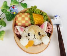 Cat and Fish bento | Bento Days