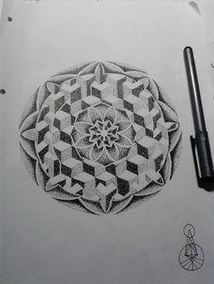 Dotwork Mandala by NitroBolts