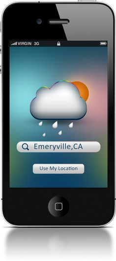 weather app location search