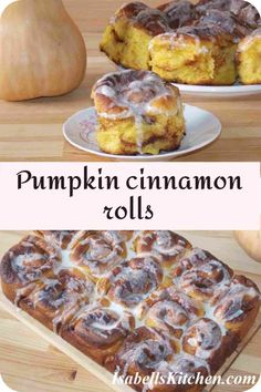 Pumpkin cinnamon rolls - isabell's kitchen