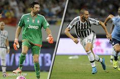 Bonucci and Buffon Super Cup reaction - Juventus.com