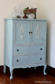 Reviving a Yard Sale Find With MMS Milk Paint