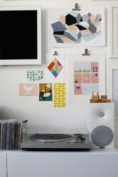 Cool way to hang prints/photos