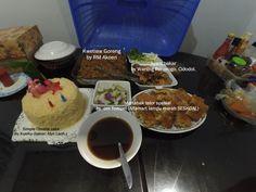 Home family dinner for mama bday. Alhamdulillah.