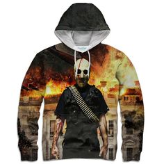 America's Worst Nightmare Hoodie – Shelfies - Outrageous Clothing