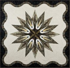 Vintage Compass quilt pattern by Judy and Brad Niemeyer | Quiltworx