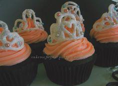 Princess Tiara Cupcakes.