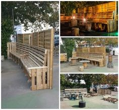 Paravent En Palettes / Pallets Screen