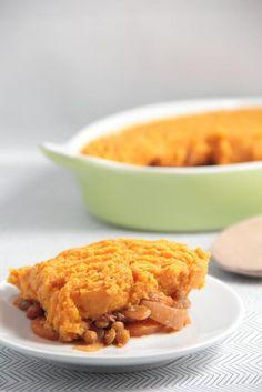 Lentil Shepherd's Pie with Sweet Potato Mash | Vegan {Recipe Redux ...