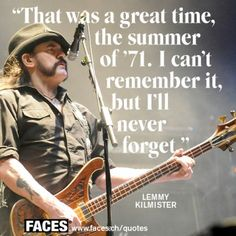 Lemmy Quote