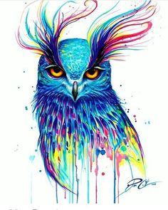 Cautivador bañado en colores #DibujosAsombrosos By: ©Pixie_Cold Also check our second page: @dibujosesvideo