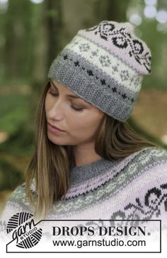 Telemark / DROPS - Free knitting patterns by DROPS Design Knitted sweater with round yoke and multicolored Norwegian pattern, knitted from top to bottom. Crochet Stitches Patterns, Lace Patterns, Knitting Patterns Free, Free Knitting, Free Pattern, Drops Design, Knitting Socks, Knitted Hats, Crochet Design