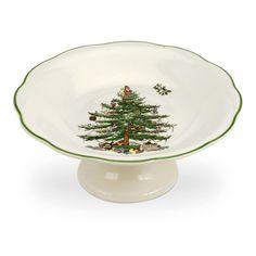 Christmas China, Spode Christmas Tree, Christmas Tree Design, Christmas Dishes, Beautiful Christmas Trees, Christmas Treats, Christmas Time, Candy Bowl, Candy Dishes