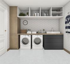 7 Small Laundry Room Design Ideas - Des Home Design Outdoor Laundry Rooms, Modern Laundry Rooms, Laundry Room Layouts, Laundry Room Remodel, Laundry Room Cabinets, Basement Laundry, Laundry Room Signs, Farmhouse Laundry Room, Laundry Room Organization