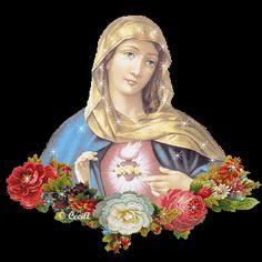 Barras y separadores: Separadores del Inmaculado corazón de María