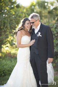 Father of the Bride. Make sure these amazing moments are captured here at The Resort at Longboat Key Club in Sarasota, FL for your beach wedding day!