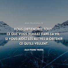 Vous obtiendrez tout ce que vous voulez dans la vie, si vous aidez les autres à obtenir ce qu'ils veulent. — Zig Ziglar #citation #vie #inspiration #motivation