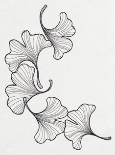 engraved ginkgo urban threads unique and awesome embroidery Silk Ribbon Embroidery, Crewel Embroidery, Machine Embroidery, Flower Embroidery, Embroidery Fashion, Embroidery Thread, Embroidery Designs, Urban Threads, Plant Drawing