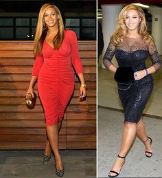 Beyonce in Monique Lhuillier on the right...in love with this