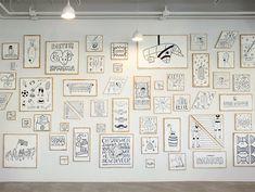 Wandgestaltung Büro eine fantastische idee und wandgestaltung die illustrator timothy