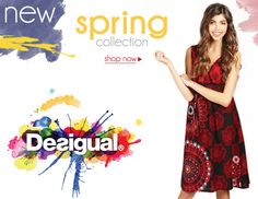 It's here! New Spring #Desigual collection for #Women & #Men @DesignerStudio get your color on: http://www.designerstudiostore.com/brands-off/desigual.html