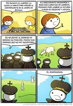 Cosas del ajedrez...