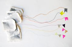 Chouette Fille: DIY + tea +masking tape